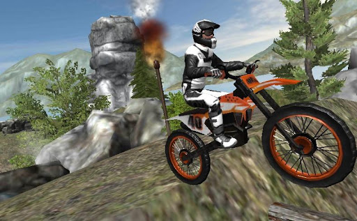 🏍️ extreme dirt bike racing xtra obstacle course screenshot 1