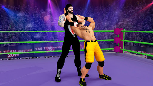 Tag Team Wrestling Games: Mega Cage Ring Fighting modavailable screenshots 5