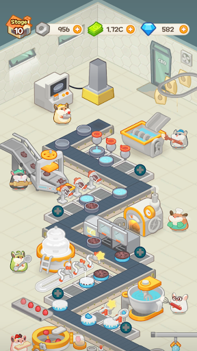 Idle Cake Tycoon - Hamster Bakery Simulator android2mod screenshots 7