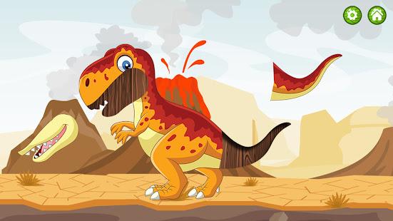 Dinosaur puzzle 0.6 screenshots 1