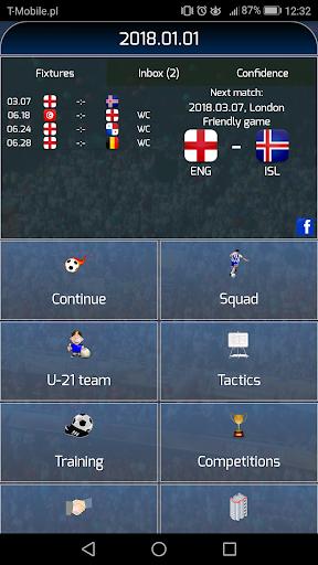 True Football National Manager  screenshots 1