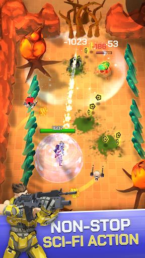 Spacelanders: 3D Sci-Fi Shooter RPG apktreat screenshots 2