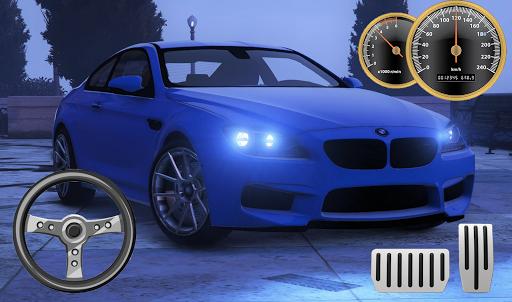 Drive BMW M6 Coupe - City & Parking apkpoly screenshots 2