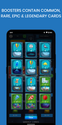 Crypto Cards - Collect and Earn apkpoly screenshots 3