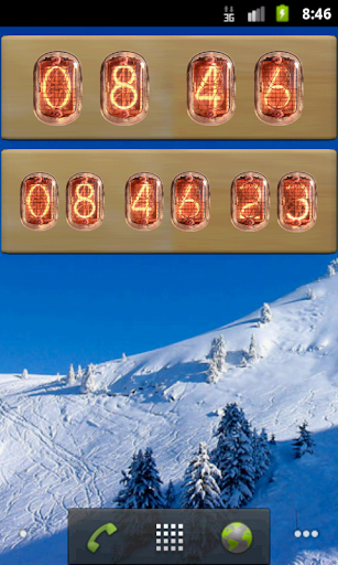 Nixie Tube Clock Widget (LITE) For PC Windows (7, 8, 10, 10X) & Mac Computer Image Number- 6