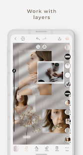 Graphionica Photo Editor: stickers, text & collage Screenshot
