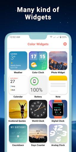 Widgets iOS 14 - Color Widgets apktram screenshots 8