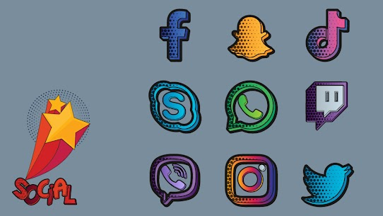Download Comics Icon Pack 1.0.3 (Patched) 3