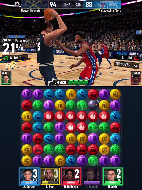 NBA Ball Stars: Play with your Favorite NBA Stars poster 11