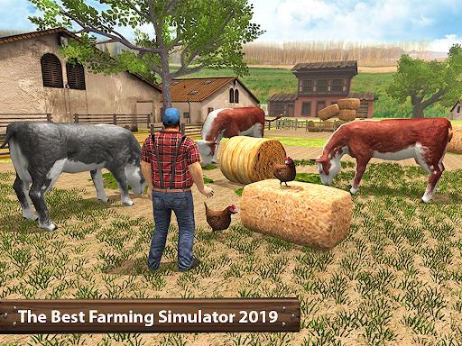 Organic Tractor Farming SIM: Mega Harvesting 3.0.3 screenshots 9