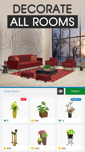 Home Makeover: House Design & Decorating Game 1.3 screenshots 5