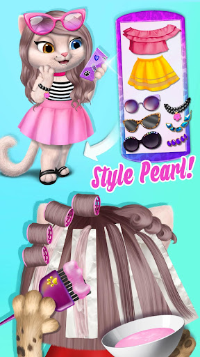 Amy's Animal Hair Salon - Cat Fashion & Hairstyles android2mod screenshots 7
