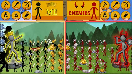 Stickman Battle 2020: Stick Fight War APK MOD HACK (Dinero Infinito) 4
