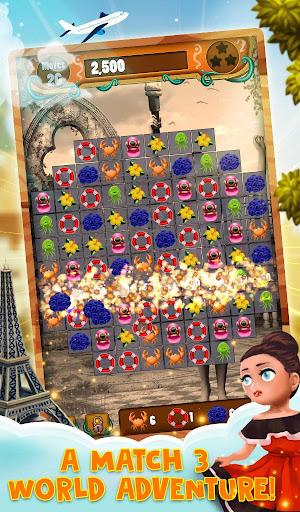 Match 3 World Adventure - City Quest 1.0.24 screenshots 2