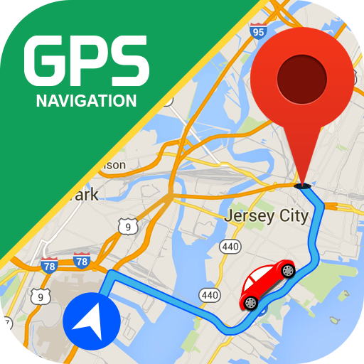 GPS Navigation - Route Finder, Direction, Road Map