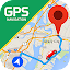 GPS Navigation: Road Map Route