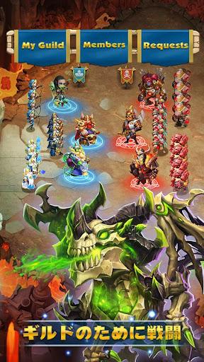 Castle Clashuff1au30aeu30ebu30c9u30edu30a4u30e4u30eb 1.7.3 screenshots 5
