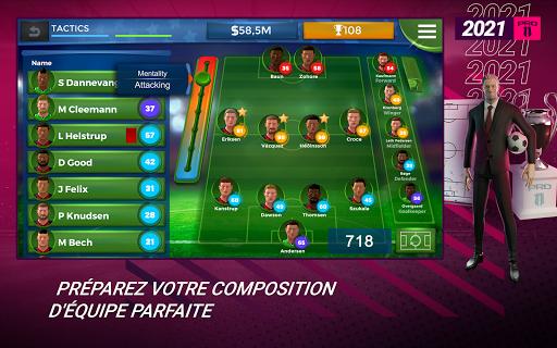 Pro 11 - Football Manager Game  APK MOD (Astuce) screenshots 6