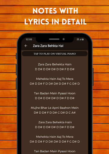 Play Piano : Piano Notes | Keyboard | Hindi Songs  screenshots 4