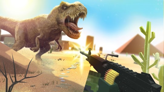 Dino Gun 3D: jurassic survival shooter Game Hack Android and iOS 1