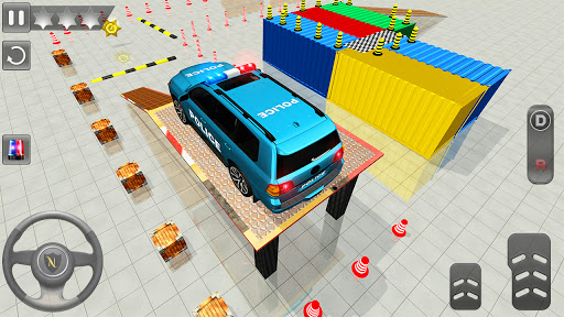 Advance Police Parking - Smart Prado Games modavailable screenshots 5