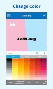 CallLang - Quote Maker, Write Text on Photo