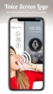 Voice Lock Screen 2020- Unlock Mobile 1.0.1 APK Mod Latest Version 1