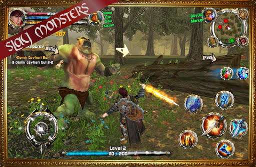 Kingdom Quest Crimson Warden 3D RPG screenshots 2