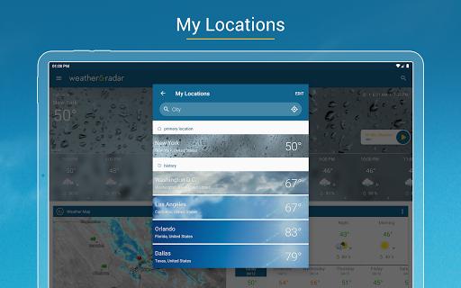 Weather & Radar USA - Storm alerts  Screenshots 10