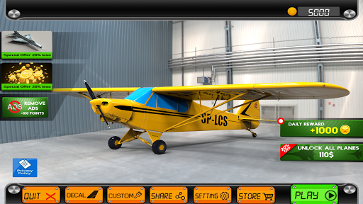 Extreme Airplane simulator 2019 Pilot Flight games 4.3 screenshots 22