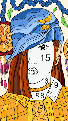 Color by number - color by number for adults 1.29 screenshots 2