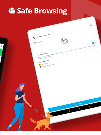 Mobile Security: VPN Proxy & Anti Theft Safe WiFi  Screenshots 21