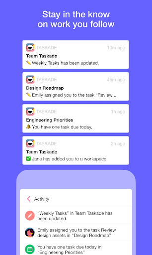 Taskade: All-in-One Collaboration for Remote Teams apktram screenshots 5