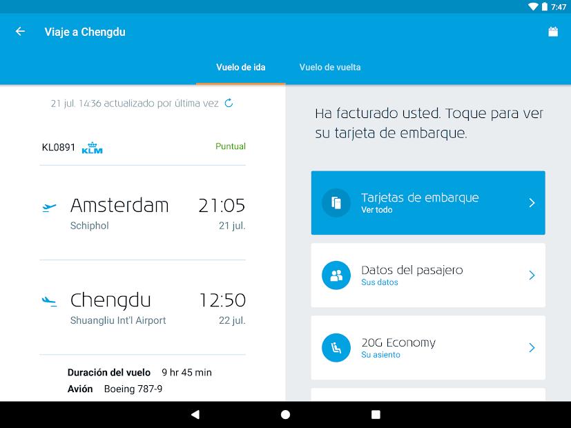 Captura 11 de KLM - Royal Dutch Airlines para android