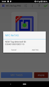 NFC ReTag PRO  For Pc – Free Download For Windows 7, 8, 10 And Mac 2