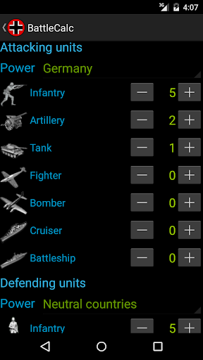battlecalc screenshot 3