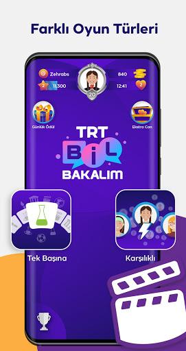 TRT Bil Bakalu0131m apktram screenshots 1