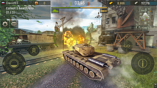 Grand Tanks: Free Second World War of Tank Games screenshots 5