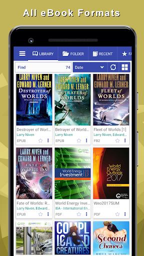 EPUB Reader for all books you love  Screenshots 1