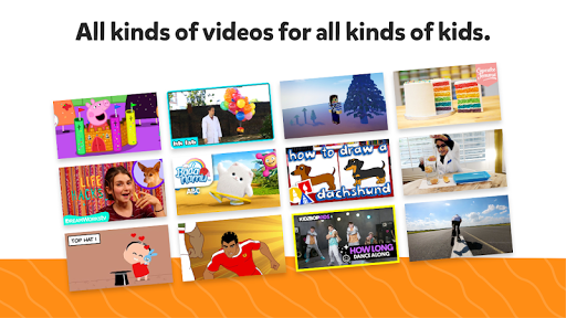 YouTube Kids for Android TV 1.12.02 Screenshots 2