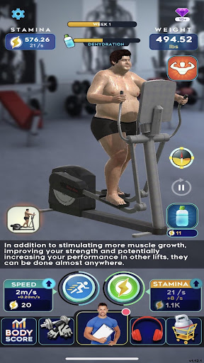 Idle Workout ! modavailable screenshots 9