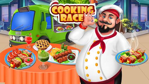 cooking race – 👨🍳chef fun restaurant game screenshot 1