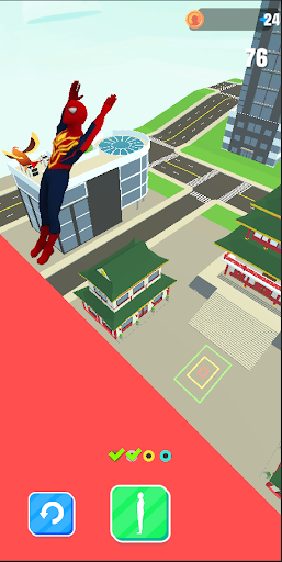 Superhero Flip Jump:Spider Sky  screenshots 4