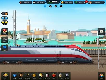 TrainStation Game On Rails Mod Apk 1.0.79 (Unlimited Money) 7