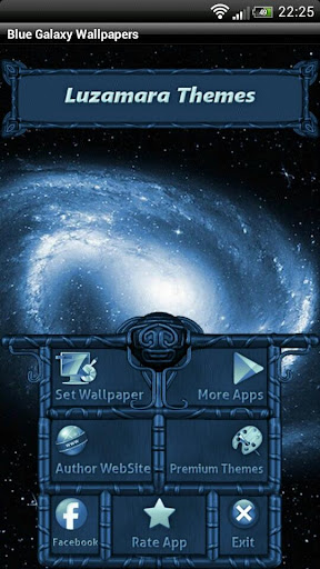 Blue Galaxy GO Launcher Theme For PC Windows (7, 8, 10, 10X) & Mac Computer Image Number- 8