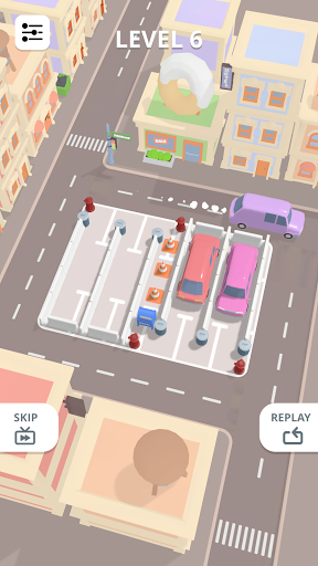 u200eCar Parking Puzzle - City Game android2mod screenshots 4