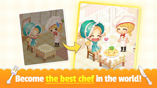 My Secret Bistro - Play cooking game with friends 1.8.6 screenshots 5