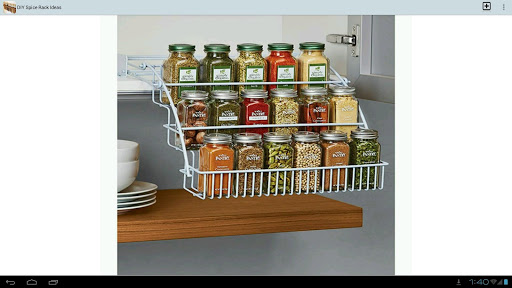 DIY Spice Rack Ideas For PC Windows (7, 8, 10, 10X) & Mac Computer Image Number- 13