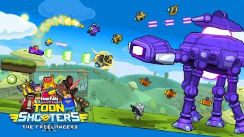 Toon Shooters 2: Arcade Side-Scroller Shooter