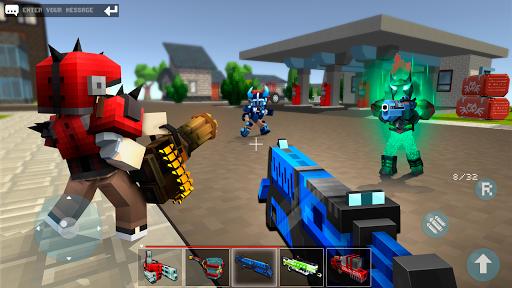 Code Triche Mad GunZ - jeux en ligne & battle royale APK MOD (Astuce) screenshots 3